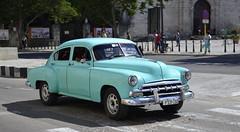 Cuban classics (Oguzhan Amsterdam) Tags: car turquoise havana cuba oldtimer