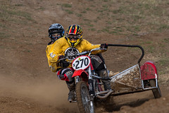 Side car racing - Classic Motocross Championships (noompty) Tags: pentax queensland sidecar k1 motorcycleracing smcpda300mmf40edifsdm on1pics