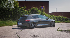 VW SCIROCCO (JAYJOE.MEDIA) Tags: vw volkswagen low static lower lowered slammed stance lowlife scirocco bagged airride vossen stanced