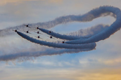 Red Arrows (aquanout) Tags: aeroplane airplane plane aircraft sky flight aviation flying airshow