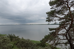 Usedom, Halbinsel Gnitz: Blick von der Steilkste auf das Achterwasser - View from the cliff  over the Achterwasser lagoon (riesebusch) Tags: usedom halbinselgnitz