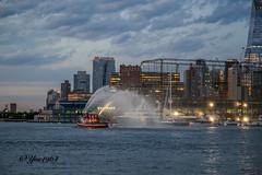 Manhattan (yve1964) Tags: sky usa newyork church skyline america skyscraper memorial manhattan 911 statueofliberty oneworldtrade