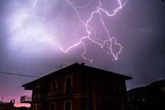 Lightning (Alieno95) Tags: light storm nikon darkness thunderstorm lightning buio frightening lightroom temporale lampo fulmine spaventoso