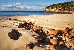 Hole in the beach (jack eastlake) Tags: park island coast ben terrace south national valley nsw eden shire boyd far bega pambula lennards