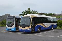 Translink Ulsterbus 257 NEZ9257 & Goldline 1004 JFZ7004 (Will Swain) Tags: newry depot 9th june 2016 bus buses transport travel uk britain vehicle vehicles county country northern ireland town centre translink ulsterbus 257 nez9257 goldline 1004 jfz7004 nez 9257 jfz 7004