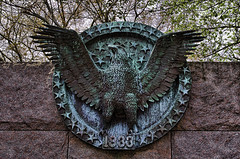 1933 (agasfer) Tags: art bronze washingtondc memorial eagle roosevelt topaz 2013 sigma1770 k01 adjust5