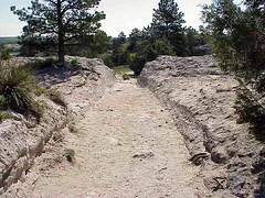 Oregon Trail Ruts By Phil Konstantin (Officer Phil) Tags: wyoming oregontrail guernsey wagonruts oregontrailruts guernseywyoming philkonstantin
