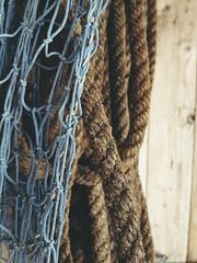 Photo 2013-06-03 15 37 04 (Rania Maria Photography [www.raniamaria.eu]) Tags: stilllife net marine stilleben rope stillife picturesque iphone iphone4 iphoneography iphoneonly
