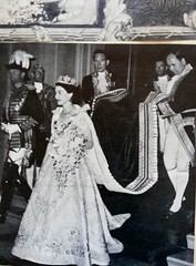 The Queen (PD3.) Tags: uk family england london television chair edinburgh britain great royal duke charles prince palace queen celebration queens crown buckingham philip 60 sixty 1953 coronation consort consorts hmsedinbrough