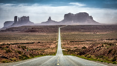 MM13 (Darren Neupert) Tags: utah desert bluesky navajo redrock monumentvalley milemarker13