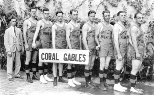 Coral Gables basketball team