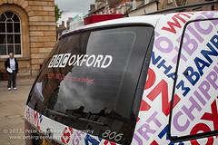 BBC Radio Oxford Radio Car Branding (Peter Greenway) Tags: broadcast bbc woodstock outsidebroadcast radiobroadcast radox radiooxford bbcradiooxford thebigtour