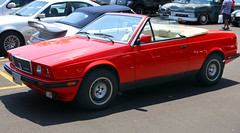 1987 Maserati Biturbo Spyder (vetaturfumare - thanks for 2 MILLION views!!!) Tags: greenwich convertible spyder 25 maserati v6 concoursdelegance zagato biturbo