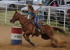 DSC01443a (Garagewerks) Tags: horse oklahoma sport race america cowboy child country barrel american rodeo cowgirl countryliving barrelracing barrelrace