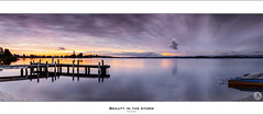 Beauty in the storm (John_Armytage) Tags: sunset panorama seascape newcastle dusk belmont pano australia panoramic nsw carlzeiss novaflex squidsink johnarmytage wwwjohnarmytagephotographycom