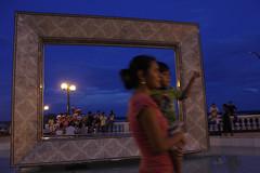 Hora azul (Rain__song) Tags: sunset atardecer boulevard selva iquitos loreto malecn tarapac