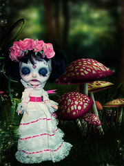 Catrina as Alice