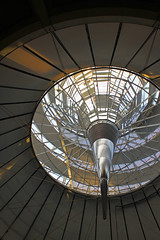 The Cone (urb_mtl) Tags: city urban berlin architecture germany paul cone norman spire architect reichstag foster needle allemagne ville spirale urbain architecte wallot