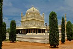 Gumbaz - Tipu's mausoleum (Saurav Pandey) Tags: india monument architecture mausoleum karnataka hdr srirangapatnam tipusultan gumbaz hyderali