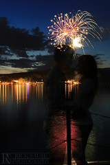 Fireworks Silhouette