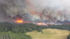 Druid Complex (YellowstoneNPS) Tags: fire nps smoke flames yellowstonenationalpark yellowstone forestfire nationalparkservice wildlandfire druidcomplex