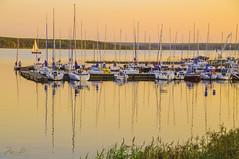 Sulejowski dam (> Mr.D Photography) Tags: sunset water marina landscape boat nikon harbour yacht dam sigma poland polska 18200 zalew mazowiecki tomaszw 18200mmf3563 d5000 sulejowski