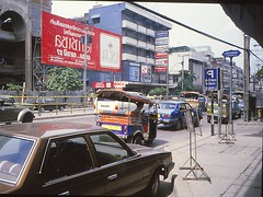 Bangkok 1984 (Linda DV) Tags: travel geotagged thailand asia southeastasia bangkok culture scan adventure 1984 sight siam canoscan slidescan geomapped culturaltravel lindadevolder