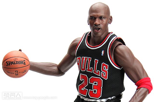 ENTERBAY 8週年紀念 Michael Jordan 23號 黑色客場版 開箱報告