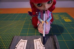 7/365 helping sewing flared pants