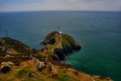 SOUTH STACK LIGHTHOUSE, SOUTH STACK ROCK, ANGLESEY, NORTH WALES, UNITED KINGDOM. (ZACERIN) Tags: irish paul lighthouses north stack the in united south christopher wales photography rock north sea of photos kingdom irish lighthouse uk lighthouses wales anglesey lighthouses zacerin anglesey picures holyhead