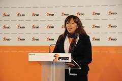 Teresa Leal Coelho em Declaração à Imprensa