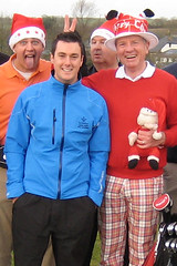 003 - New Pro Jason Avery may live to regret having his photo taken with the RedHedz Xmas Trophy crew (Neville Wootton Photography) Tags: golf humour jasonavery bobbryant stmelliongolfclub nevillewootton martynhunkin 2012golfseason redhedzrollupxmastrophy