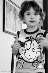 Chocolate (tatiana barthem) Tags: boy girl pose book model chocolate childrens criana menina menino nestl brincadeira lambana