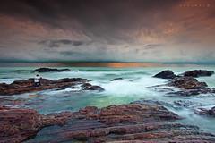 Tanjung Jara 2 (SHAZRAL) Tags: ocean beach sunrise canon photography eos laut wave filter malaysia nd pantai terengganu dungun leefilters tanjungjara 5dmarkii azralfikri shazral