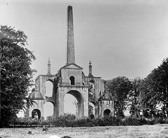 The Obelisk aka Conolly's Folly (National Library of Ireland on The Commons) Tags: trees ireland architecture pillar obelisk eagles glassnegative kildare leinster strawboater celbridge robertfrench williamlawrence nationallibraryofireland williamconnolly cas