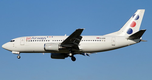 JAT AIRWAYS 737 YU-ANK