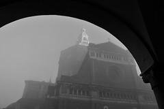 Duomo, punti di vista. (SaraNumero12) Tags: bw white black duomo nebbia bianco nero mistery
