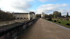 Castello di Chenonceau dai Giardini