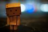 Confidence (Cody the Schliebe) Tags: bar lights robot bokeh box danbo amazoncojp revoltech alsandvics danboard