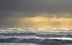 Very low tide 2 ((Virginie Le Carré)) Tags: ocean lights atlantic grandes vagues lumières atlantique marées crohot