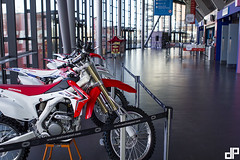 The 2014Garmin UK ArenacrossUK Tour with E22 Sports at Echo Arena Liverpool. With Honda Motorcycles UK — at Echo Arena.