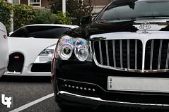 Maybach Xenatec and Bugatti Veryon (Bas Fransen Photography) Tags: bugatti maybach bugativeyron veryon xenatec maybackxenatec maybachxenatac57s