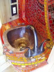 TH Utility Sink-MS (FlowerPowerMosaic) Tags: bathroom sink treehouse