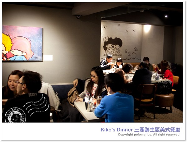 dinner, 可愛, kikos, 漢堡, kikilala, 美式餐廳, 三麗鷗, vision:people=099, vision:face=099, vision:clouds=0521, vision:sky=0838, dinner三麗鷗主題美式餐廳 ,www.polomanbo.com