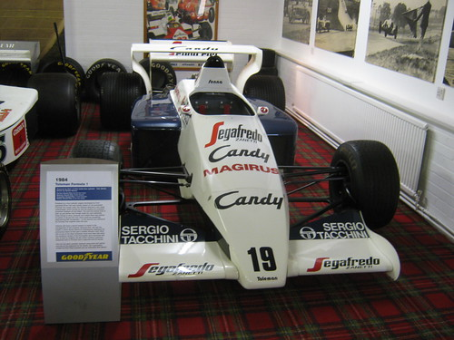 Ayrton Senna's first F1 car