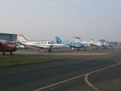 Race Visitors (Aircaft @ Gloucestershire Airport By James) Tags: james airport king air gloucestershire 200 piper 441 gti 31 90 beech cessna lloyds egbj geeje eidmg gmosj gflyw