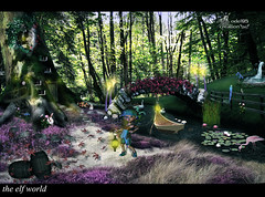 elf world (odel95) Tags: world show light beauty forest photoshop photo nice awesome cartoon manipulation elf fantasy imagination glowing unreal vision:plant=0746 vision:outdoor=0972