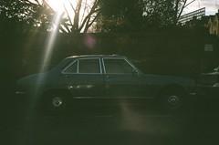 Old Peugeot 504 (Jim Davies) Tags: camera film car 35mm vintage automobile alt 200asa vista plus konica analogue agfa peugeot 504 compact bigmini agfaphoto veebotique