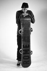 Stockdale_Protraiture (Keenan_Stockdale, NAU) Tags: portrait bw white black rome snowboarding grey gray snowboard snowboarder sds protraiture romesds