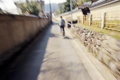 Japon 2014 - Kyoto - Promenade du philosophe (romuleald) Tags: bike japan rollei speed iso200 kyoto olympus 200 japon nihon vlo ginkakuji vitesse philosopherswalk yb  tetsugakunomichi cr200 nationphoto japon2014 cheminphilosophique japonolympus2014